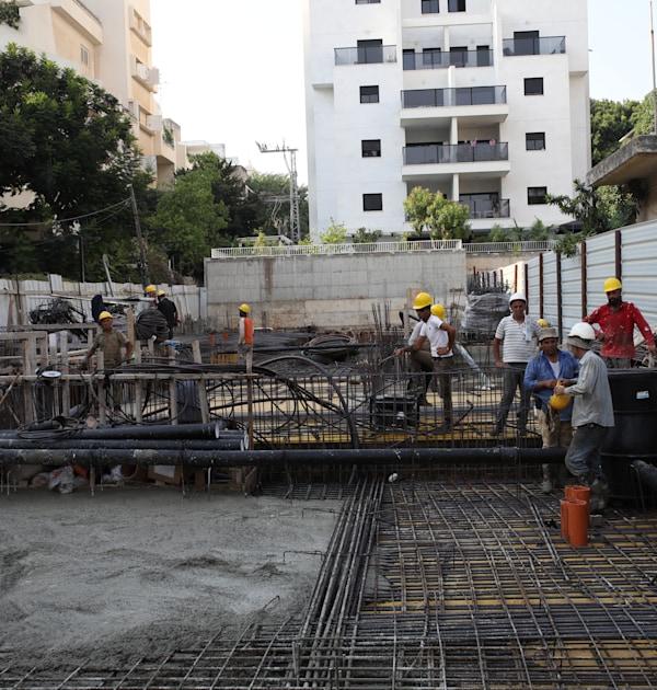 אתר בניה ברחובות / צילום: כדיה לוי