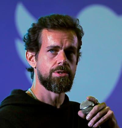 """ג'ק דורסי, מנכ""""ל טוויטר / צילום: Reuters, Anushree Fadnavis"""