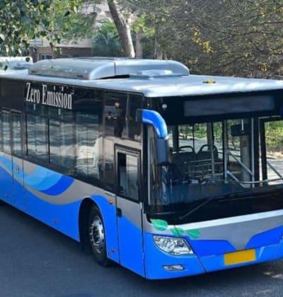 אוטובוס חשמלית של היצרנית הסינית FOTON