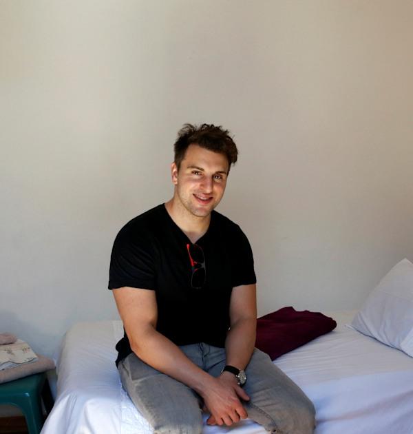 מנכ''ל Airbnb בריאן צ'סקי / צילום: Reuters, Mike Hutchings