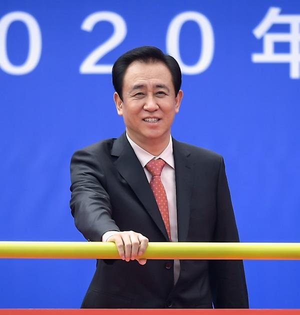 שו ג'יה יין, מייסד אוורגרנד / צילום: Reuters, Aly Song