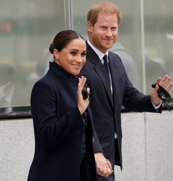 הנסיך הארי ומייגן מרקל / צילום: Associated Press, Seth Wenig