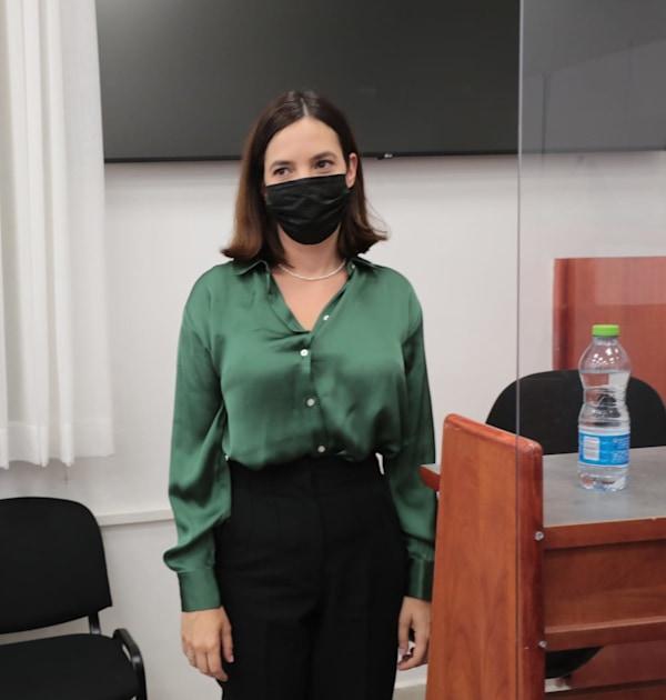 ראש מחלקת החדשות לשעבר בוואלה מיכל קליין  מעידה במשפט נתניהו / צילום: יוסי זמיר