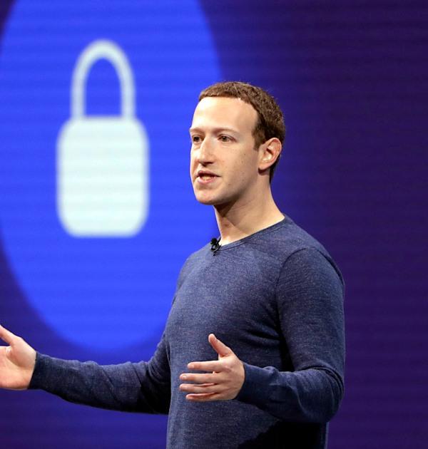 מארק צוקרברג, מנכ''ל פייסבוק / צילום: Associated Press, Marcio Jose Sanchez