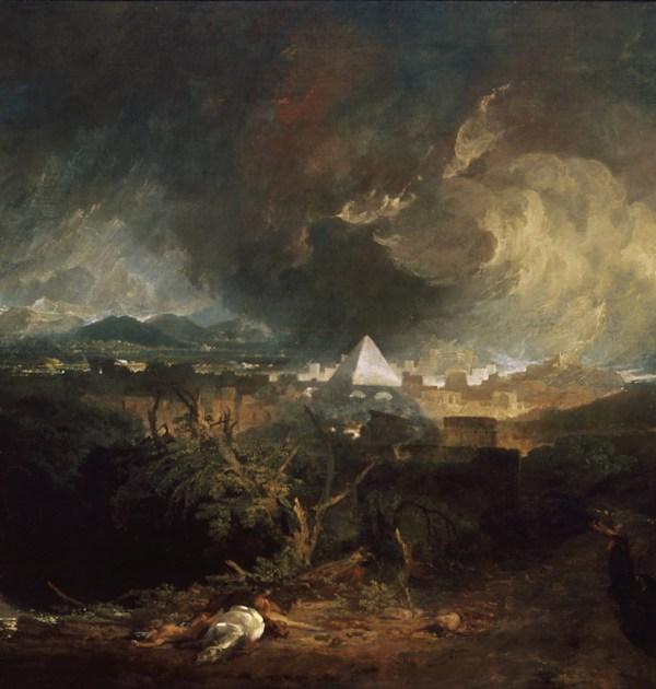המגפה החמישית של מצרים / וויליאם טרנר' 1800 / צילום: וויליאם טרנר' 1800