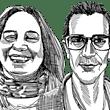 ארנון הרשקוביץ ואלונה פורקוש ברוך / איור: גיל ג'יבלי