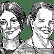 רות הלפרין ועינת עופר / איור: גיל ג'יבלי