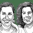 שרה זלצברג וסימה בלאק / איור: גיל ג'יבלי