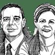 הודיה למפרט ומיכאל שראל / איור: גיל ג'יבלי