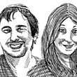 שאנה אהרונסון ויעקב סלע / איור: גיל ג'יבלי