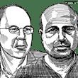 מוטי גיגי ומייק דהאן / איור: גיל ג'יבלי