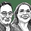 עירית הרבון ומוחמד אבו נסרה / איור: גיל ג'יבלי