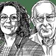 פרופ' אסא כשר, פרופ' רבקה כרמי / איור: גיל ג'יבלי