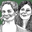 מנאל שלבי וקרין לוי / איור: גיל ג'יבלי