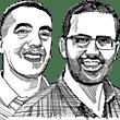 נתנאל פישר ורוני שרון / איור: גיל ג'יבלי