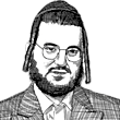 זאב סקלר / איור: גיל ג'יבלי