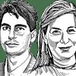 יובל קרניאל וסיגלית מאור / צילום: גיל ג'יבלי