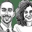 רגד ג'ראיסי ונדב דגן / איור: גיל ג'יבלי