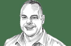 איציק צלף / איור: גיל ג'יבלי
