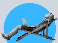 העובדים שיישארו לעבוד מהבית / צילום: Shutterstock