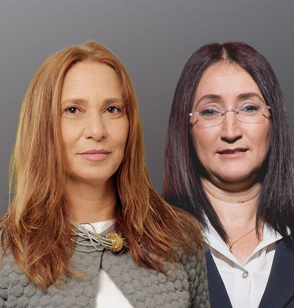 (מימין) ענת כהן דייג ותמר גלילי / צילום: מי זרנגר ואנטולי קרניצקי