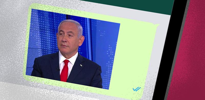 ראש הממשלה בנימין נתניהו בראיון / צילום: צילום מסך, חדשות 12