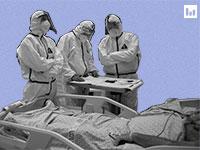 מחלקת קורונה בבית החולים / צילום: Associated Press, Oded Bality