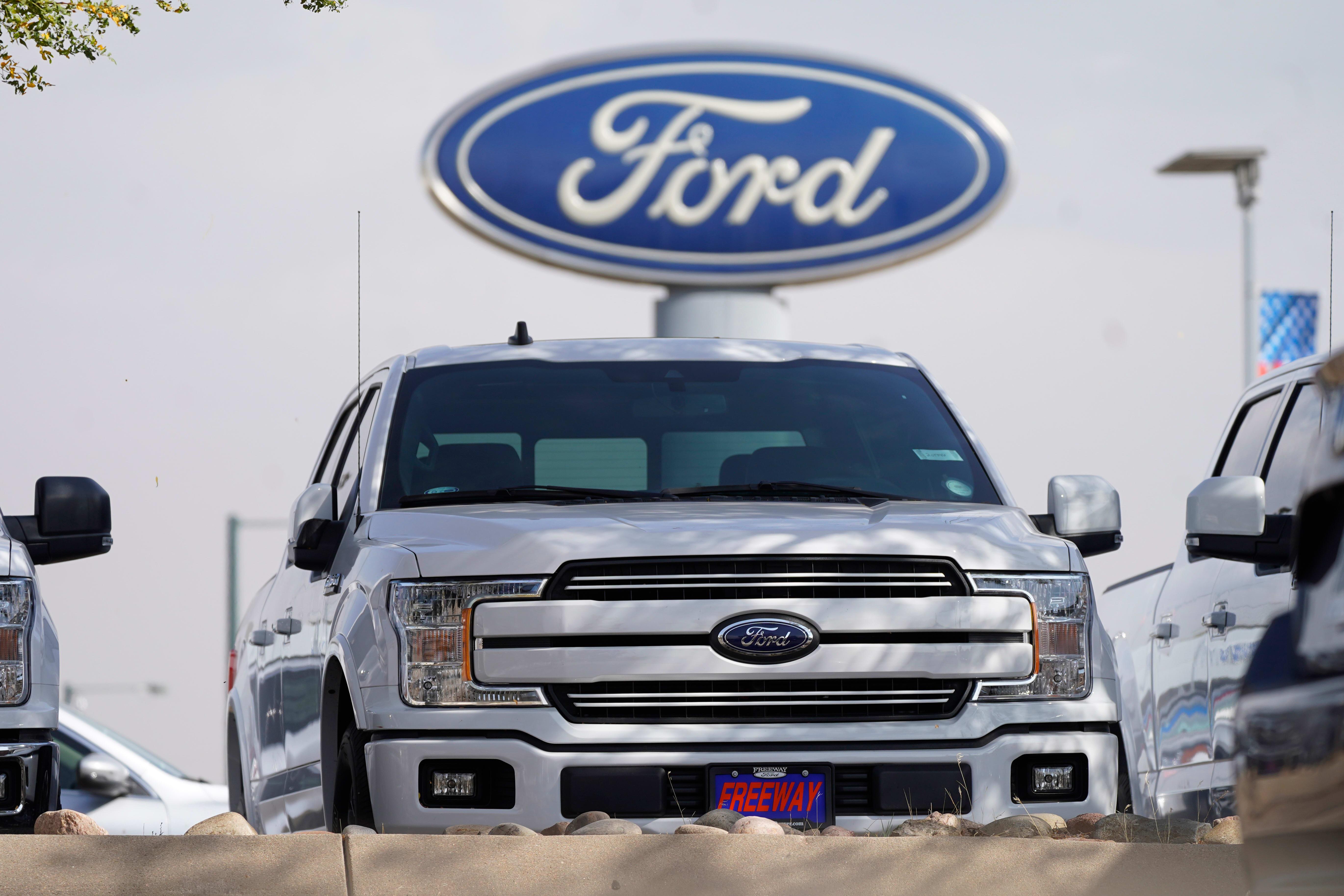 מכונית במפעל פורד / צילום: AP