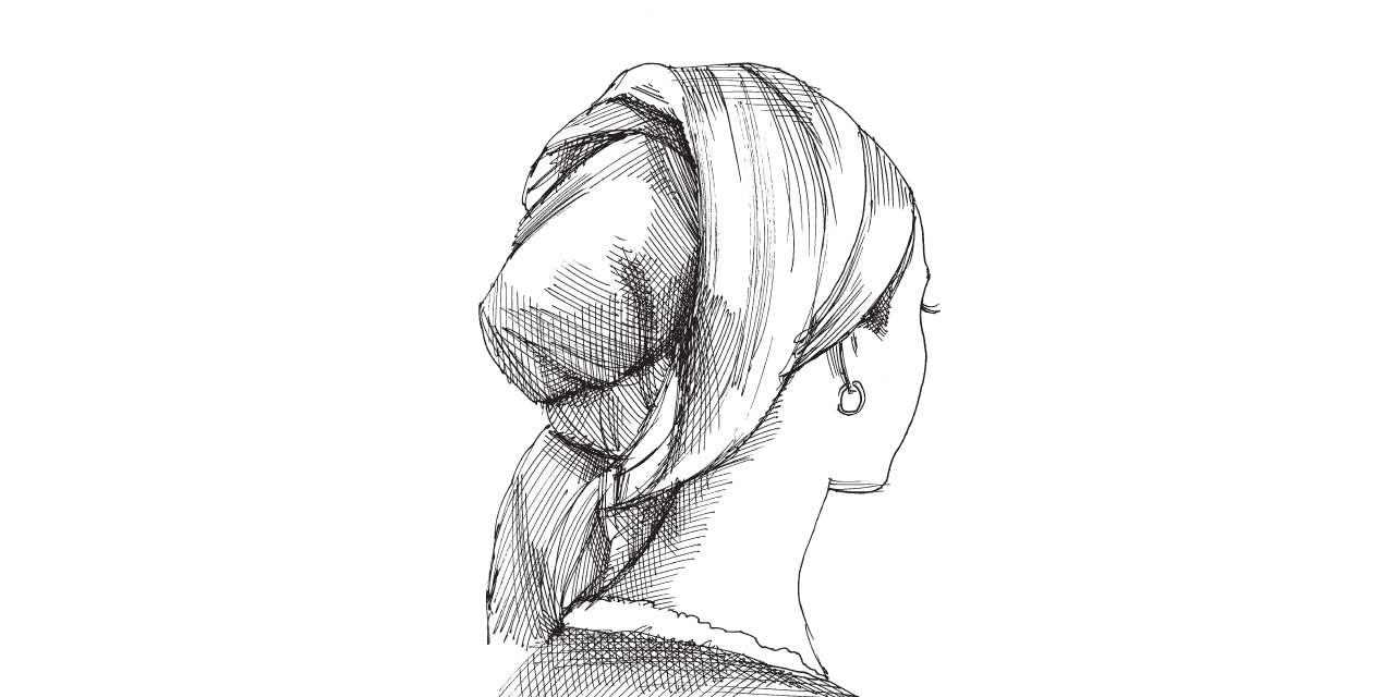 אלמונית / איור: גיל ג'יבלי