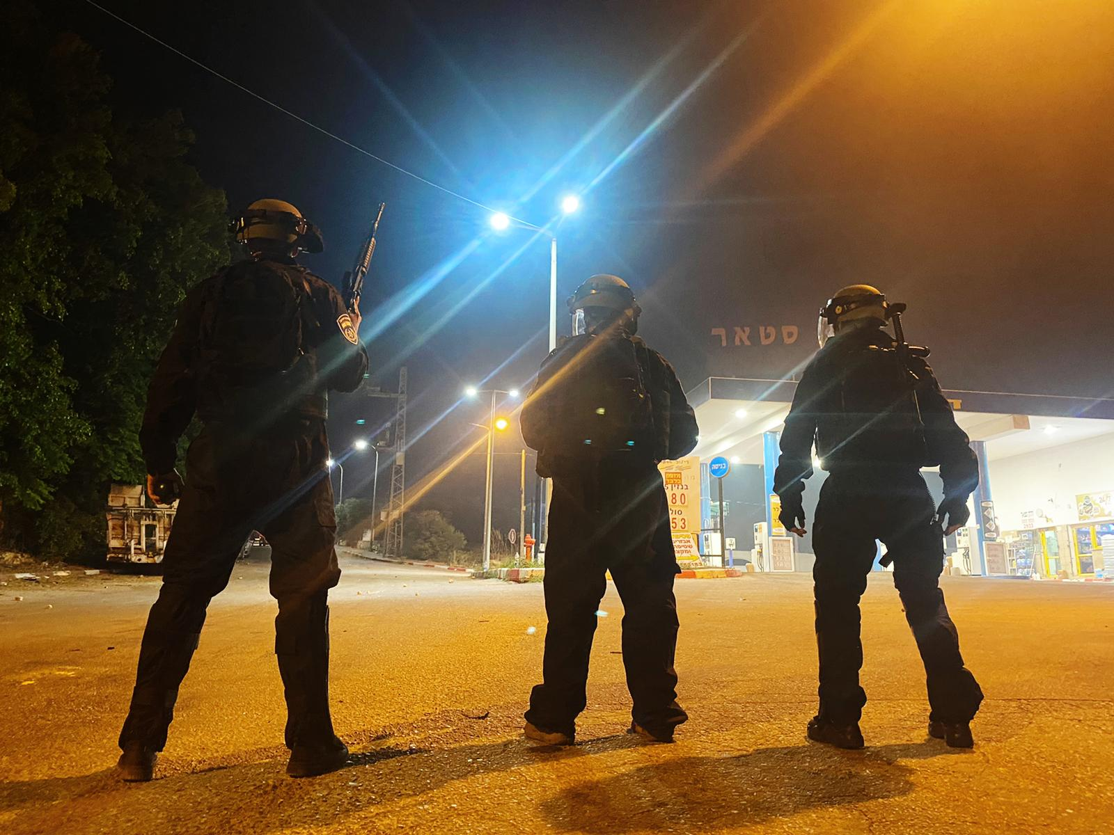 התפרעויות במחוז הצפון / צילום: דוברות המשטרה