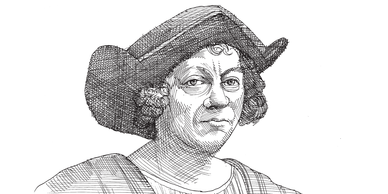 כריסטופר קולומבוס / איור: גיל ג'יבלי
