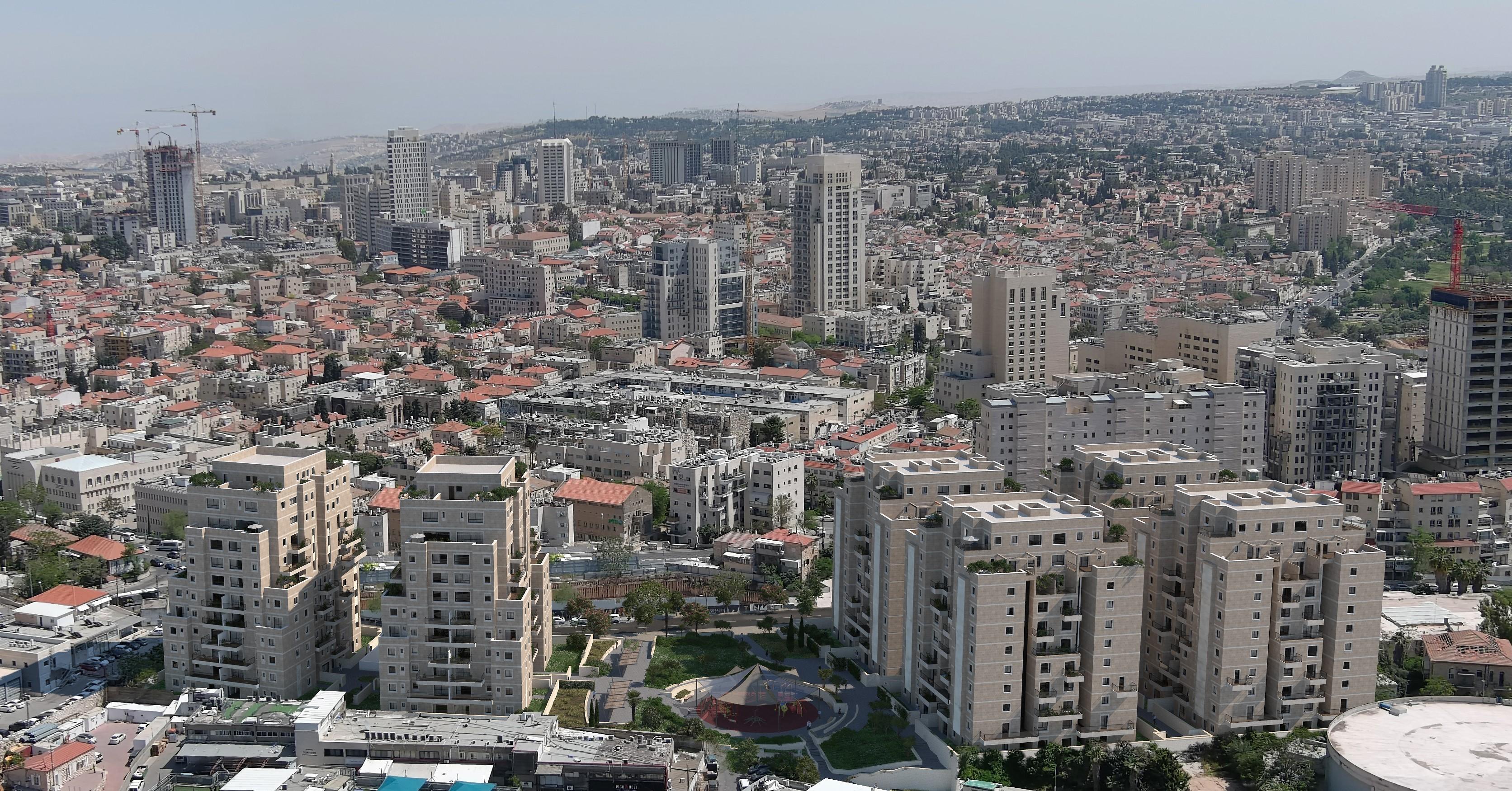 """אקה פרימיום של חברת אקה נדלן בשכונת רוממה בירושלים / צילום: יח""""צ"""