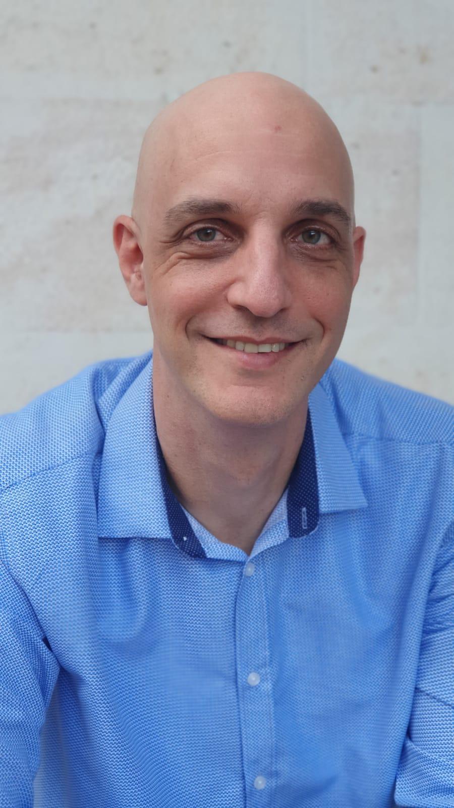 """ראש מערך משאבי האנוש של אנבידיה ישראל, עו""""ד גדעון רוזנברג / צילום: באדיבות NVIDIA"""