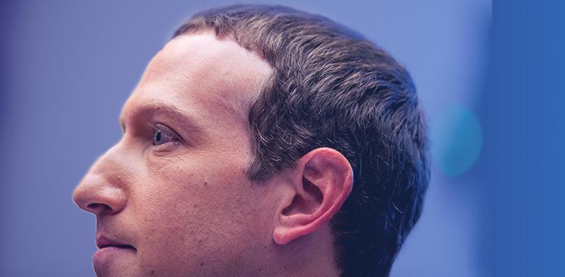 מנכ''ל פייסבוק מארק צוקרברג מעיד בפני דיון בוועדת שירותים פיננסיים בבית בגבעת הקפיטול בוושינגטון / צילום: Andrew Harnik