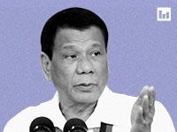 נשיא הפיליפינים, רודריגו דוטרטה / צילום: Reuters, Dondi Tawatao