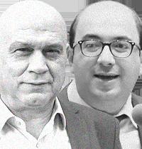 סמי אבו שחאדה ועיסאווי פריג' / צילום: דוברות הכנסת, לואיז גרין
