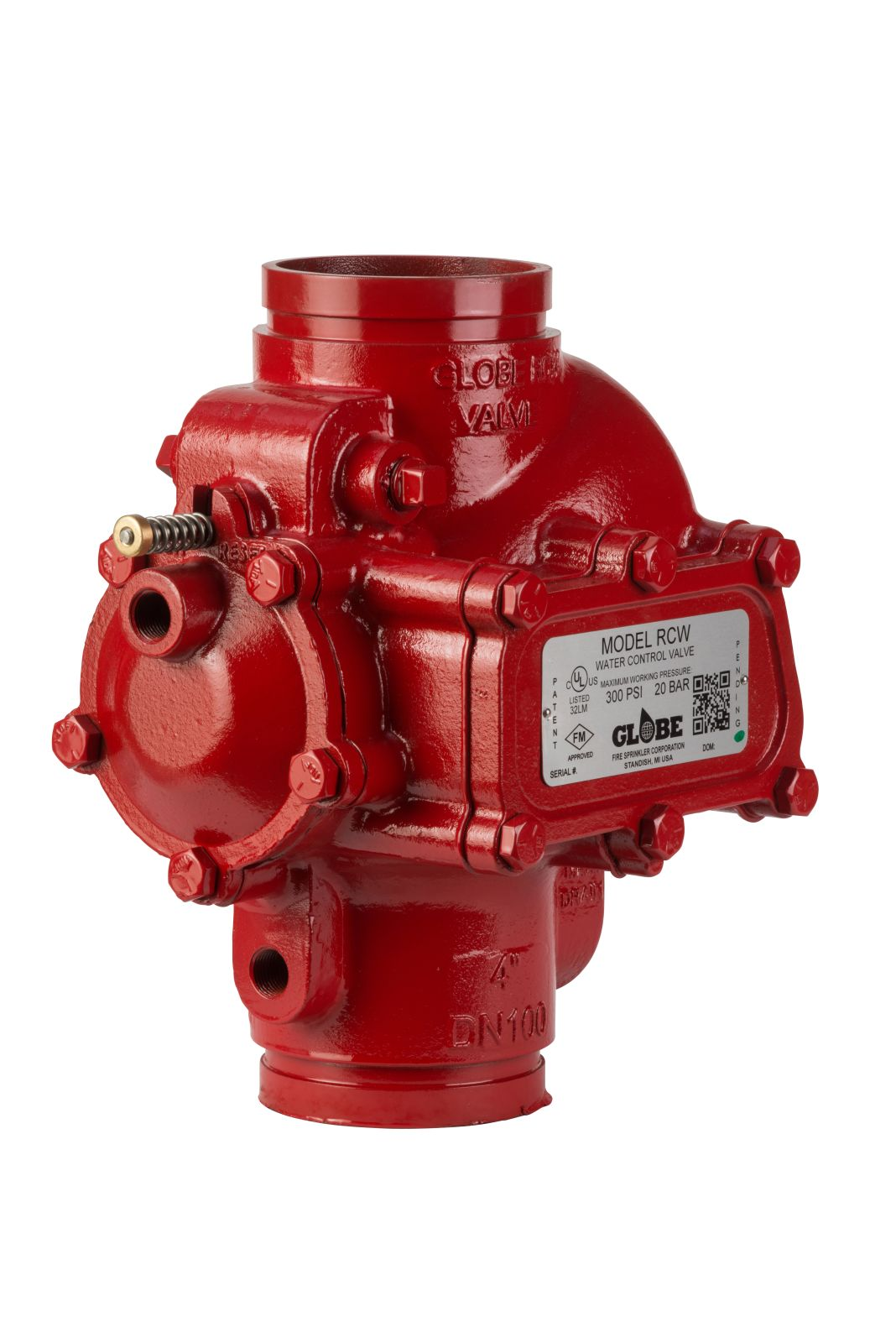 RCW Water Control Valve