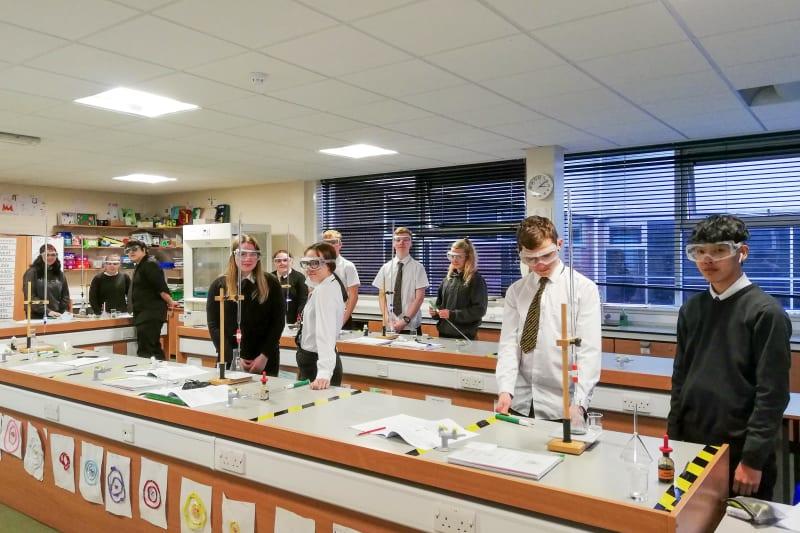 Students at Annan Academy