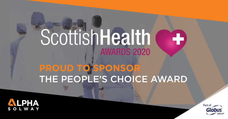 Scottish PPE firm Alpha Solway honour NHS Scotland heroes with new 'People's Choice' award