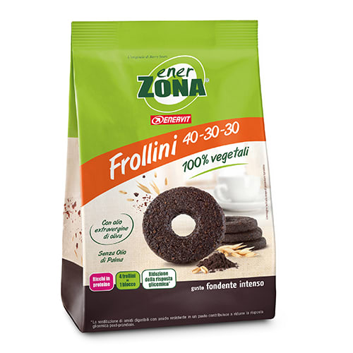 ENERZONA Frollini 250 gr. - Cacao intenso