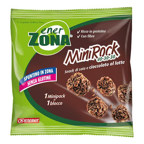 ENERZONA MINIROCK SNACK cioccolato 1 pz