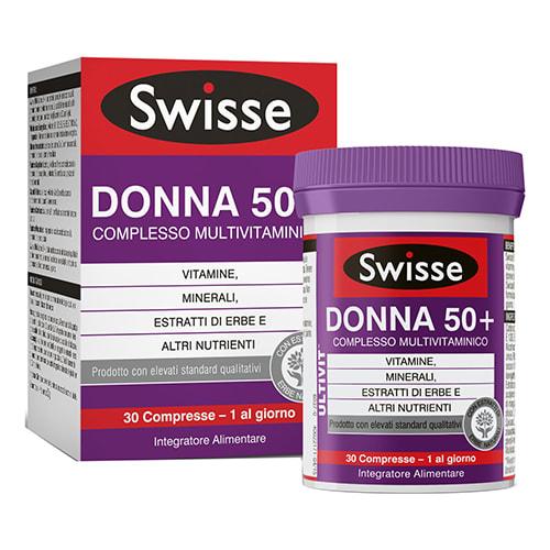Swisse Multivitaminico Donna 50+ 30 Compresse