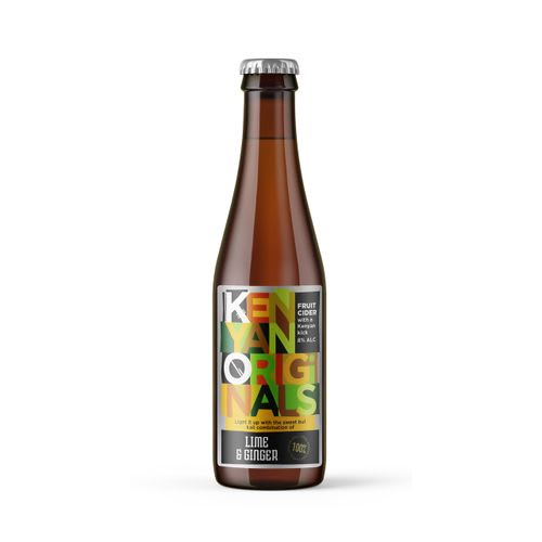Kenyan Orig Lime&Ginger Cider330Ml