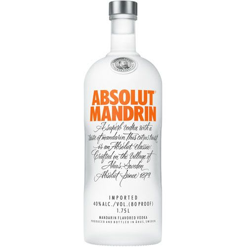 Absolut Vodka Mandrin 750Ml
