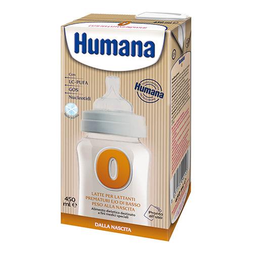 HUMANA 0 LATTE 450ML
