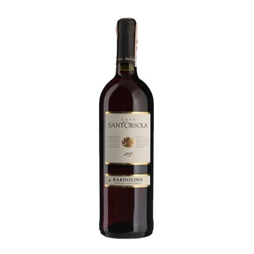 Вино Bardolino, Sant'Orsola, Італія, червоне сухе (750мл)