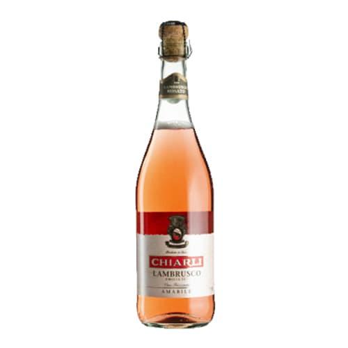 Ігристе вино Lambrusco dell Emilia, Італія, рожеве солодке (750мл)