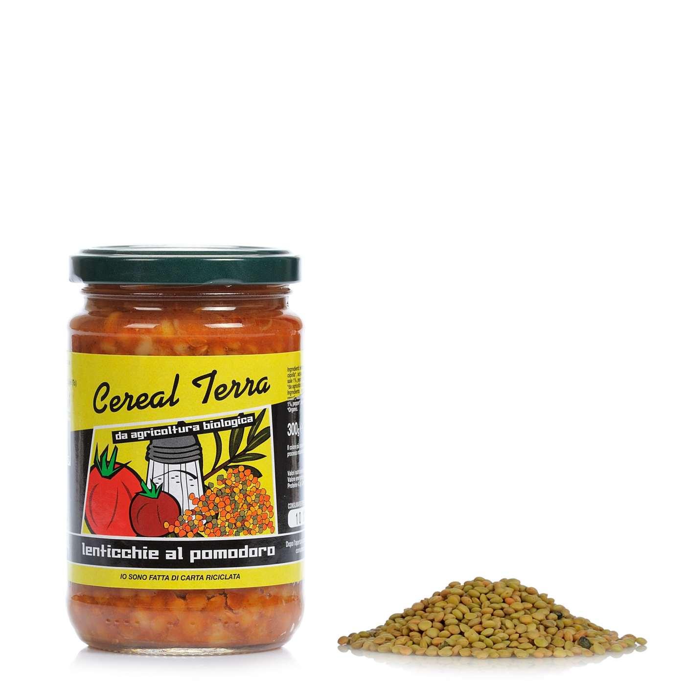Cereal Terra Zuppa di Lenticchie e Pomodoro 300g