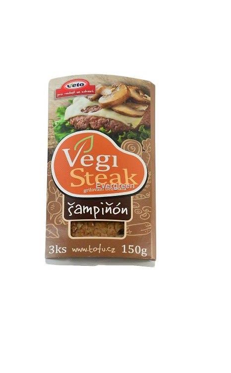 Stek z grzybami 150g VETO