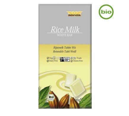 Czekolada biała ryżowa 100g BIO